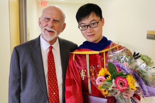 with Prof. Terry Cooper