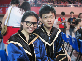 with Xinyan Xie