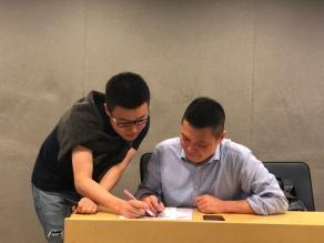 with Raymond Tang