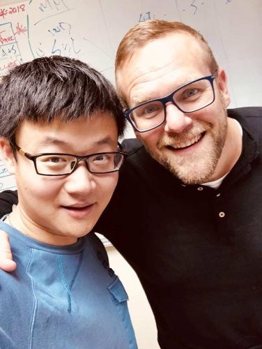 with Prof. William Resh