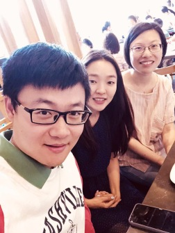with Yi and Kate