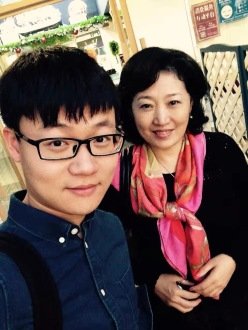 with Prof. Xiaohui Pan