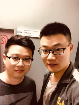 with My Doctoral Student: Lei Tao