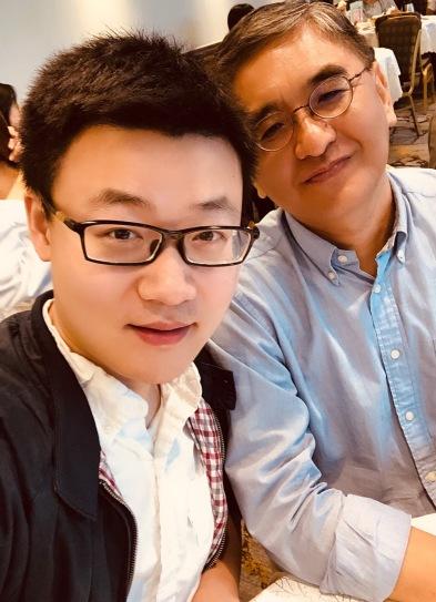 with Prof. Xiaohu Wang