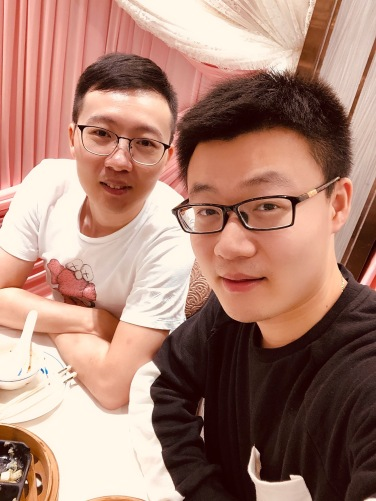 with Lin Zhang