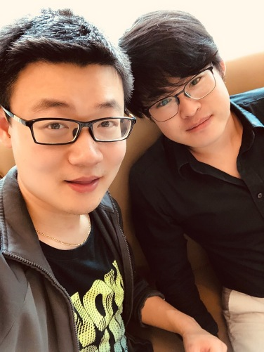 with Liang Dong