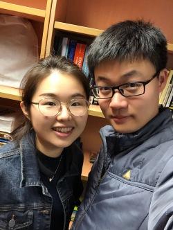 with Linna Zhu