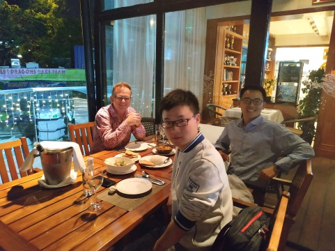 with Professors Richard Walker and Liang Ma