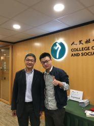 With Prof. Xueguang Zhou